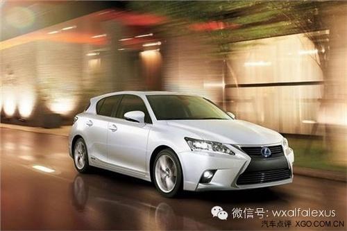 lexus混合动力汽车带来环保 正能量高清图片