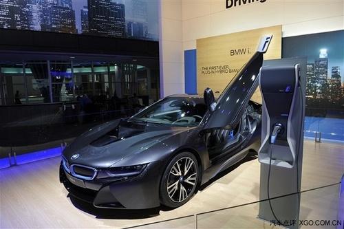 2014北京车展 宝马全新跑车i8正式发布