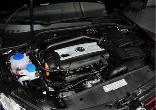 同款发动机,最大功率可达132kw,最大扭矩230n  而高尔夫6刚拥有