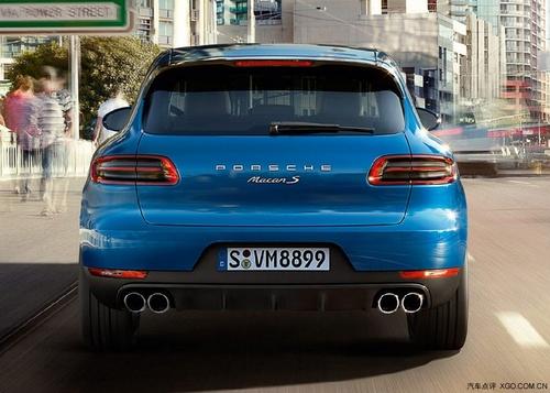 保时捷Macan全新设计的尾灯,很有科技感-保时捷macan现车优惠热