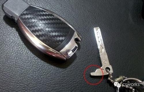 梅赛德斯-奔驰遥控钥匙更换电池很实用_无锡中