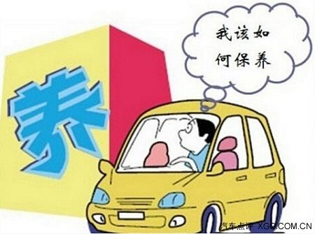 汽车电路油路  卡通
