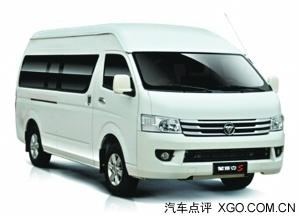 福田商务车蒙派克S奖项年度最佳商务车高清图片