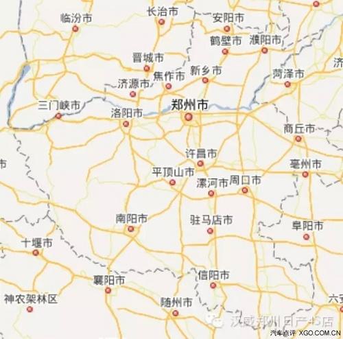 汝州去新郑飞机场