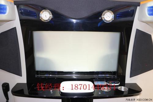 雾化玻璃升降隔断,桃木边框升降电视,娱乐影音系统,全触控触摸屏等