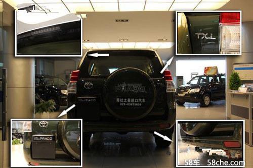 16款丰田霸道2700中东版平行进口批发高清图片