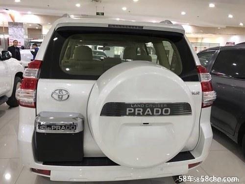 车 代步车 遮风挡雨 请求不高-2017款丰田普拉多4000阿曼版高配现图片